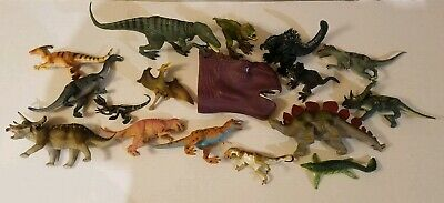 Lot of Dinosaurs Toys plastic figures Collectibles Jurassic World