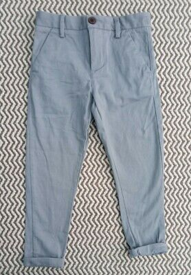 Boys Next Pale Grey Cotton Trousers Chinos Age 3