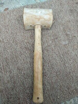 38mm HEAD JEWELLERS /& SILVERSMITHS RAW HIDE MALLET LEATHER HAMMER