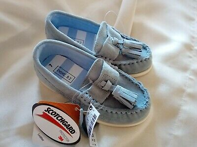 NEXT BNWT boys shoes infant size 7. real leather