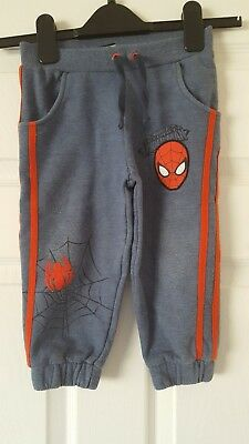 Boys Tracksuit Bottoms / Pants - Ultimate Spiderman At George - 1 1/2-2 Years