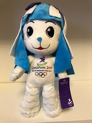 2010 Singapore Youth Olympic mascot Merly new with tag