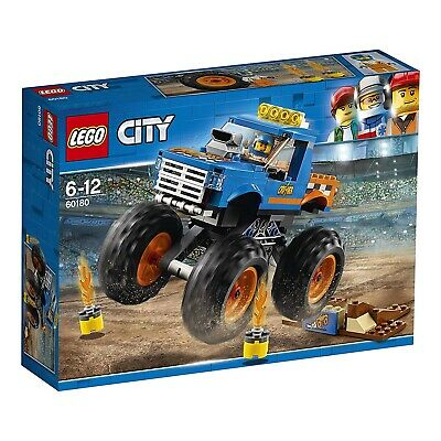 LEGO City 60180 Great Vehicles Monster Truck Set Toy Vehicle Construction