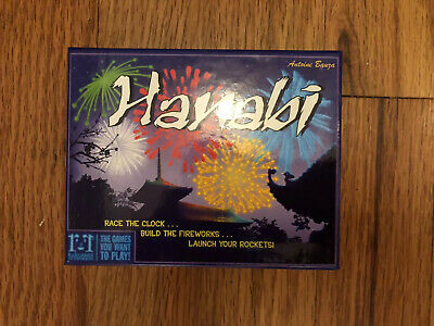 HANABI Card Game - played once. Great condition