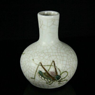 Chinese Exquisite Handmade porcelain bottle