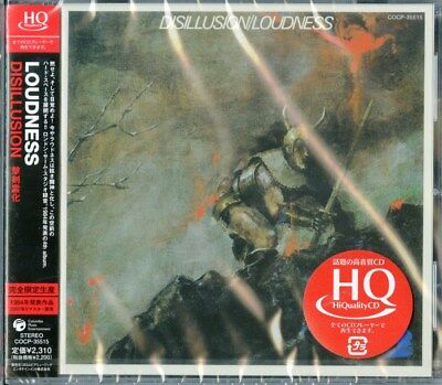 LOUDNESS-DISILLUSION-JAPAN HQCD Ltd/Ed E78
