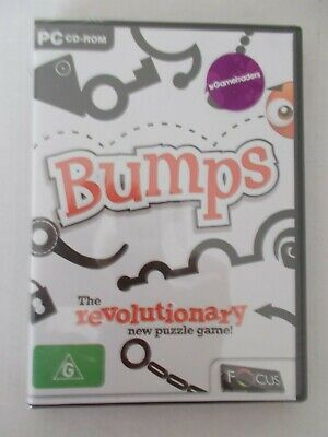 - Bumps [Pc Cd-Rom] Puzzle Game New Sealed [Aussie Seller]