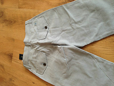 boys age 8 Roberto Cavalli blue cotton tailored shorts tagged 100% authentic