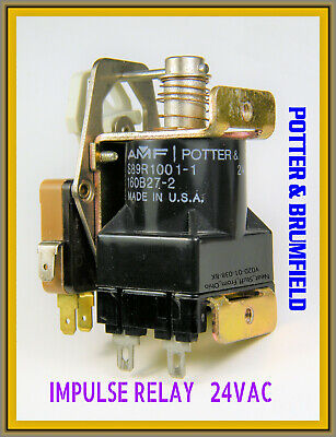 Ratchet Relay / Impulse Relay / Latching Relay - 24Vac  Potter & Brumfield