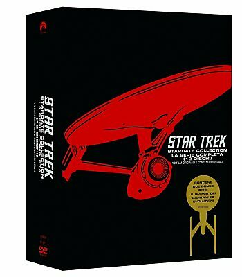 Star Trek Stardate Collection 1 -10 Film - Box 12 Dvd Paramount