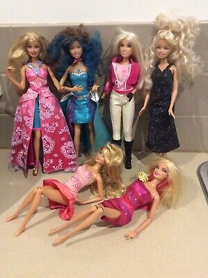 Barbie Dolls X 6