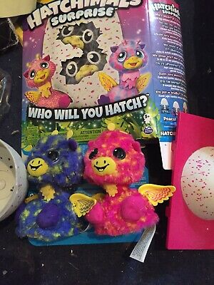 Hatchimals Surprise Twins Electronic figures With Instructions