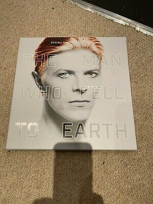 THE MAN WHO FELL TO EARTH – SOUNDTRACK DAVID BOWIE 2x VINYL LP 2CD BOX SET NEW