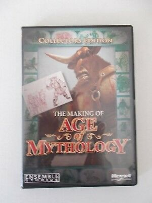 - The Making Of Age Of Mythology [Pc Cd-Rom] Brand New [Aussie Seller]