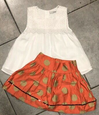 George... Next Girls Skirt Outfit 4-5 Years Vgc