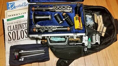 Huge Buffet Crampon R13 clarinet outfit, overhauled, 150th Anniversary Edition!