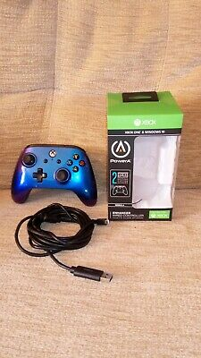 PowerA Xbox One & Windows 10 Enhanced Wired Controller Nebula (for parts only)