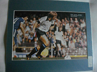 Colin Todd Autographed Mounted Photo Derby Fc