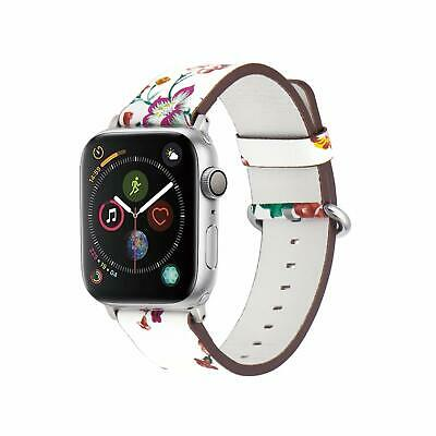 Band  for Apple Watch 38/40mm Leather Wristband iWatch 5 4 3 2 1 Sport & Edition