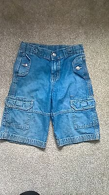 Boys Jeans Shorts, Denim Shorts, adjustable waist, size 98 / age 3