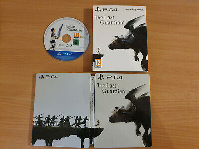 The Last Guardian Steelbook (INC GAME) PS4 Collector Edition VERY GOOD CONDITION
