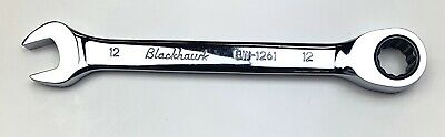 USED Blackhawk 12 mm Ratcheting Combination Wrench BW1261 BW-1261 12mm MINT