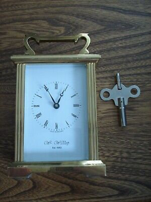 Wm Widdop Carriage Clock