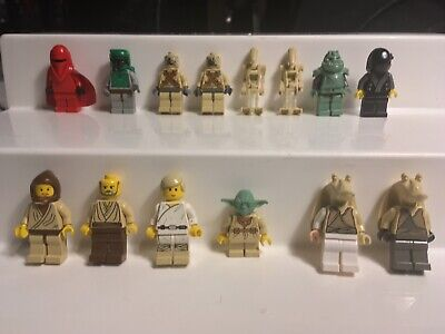 Lot of 14 LEGO STAR WARS Minifigures - includes Boba Fett!!!!