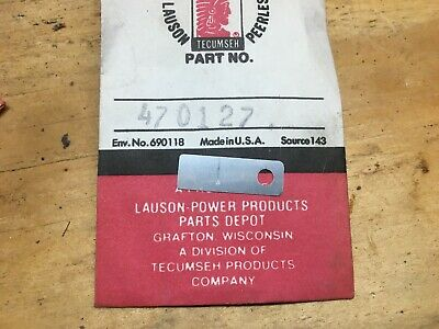 Tecumseh Lauson Power Products NOS Antique Engine Part 470127 Intake Reed Valve