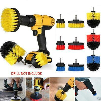 Electric Drill Cleaning Brush Drill Brush Scrub Pads Power Scrubber Cleaning Kit