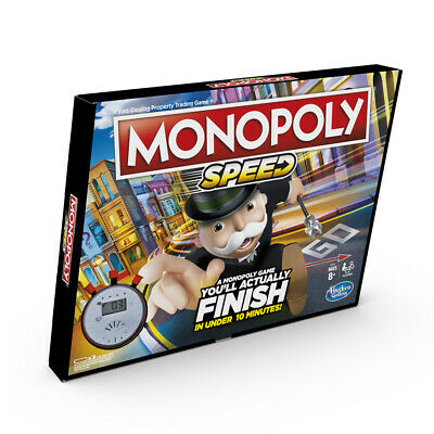 Monopoly Speed Family Board Game