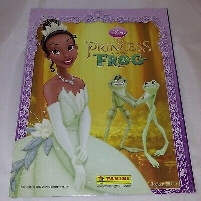 Disney's The Princess and the Frog : Panini Sticker Album : 100% Complete