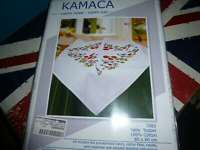 Kamaca Shop  Embroidery Kit  Tablecloth 80 x 80cm  New