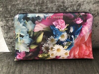 Ted Baker Floral Makeup/ Toiletry/wash Bag