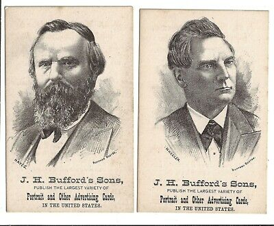 Rutherford Hayes William Wheeler Trade Cards How Much Hayes & Wheeler Have You?