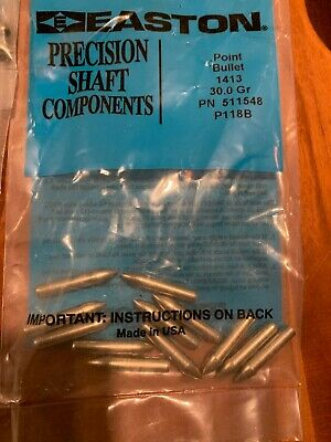 12 Pack Easton 1413 Swift Glue-In Points
