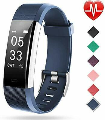 Lintelek Fitness Tracker w/ Heart Rate Monitor,Activity Tracker w/ Connected GPS