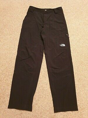 Boys The North Face Black Trousers, Size LG