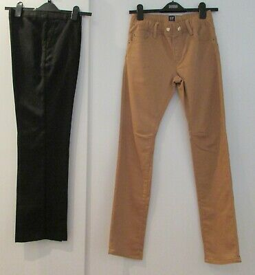 Boys Bundle Age 11-12 Years Gap Jeans & Black School Trousers Good Condition