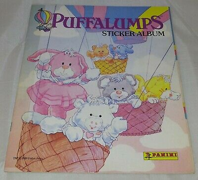 Puffalumps : Vintage Panini Sticker Album from 1989 : 100% Complete