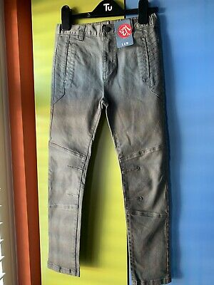 New & Tagged Tu Boys Grey Fitted Jeans Age 8.