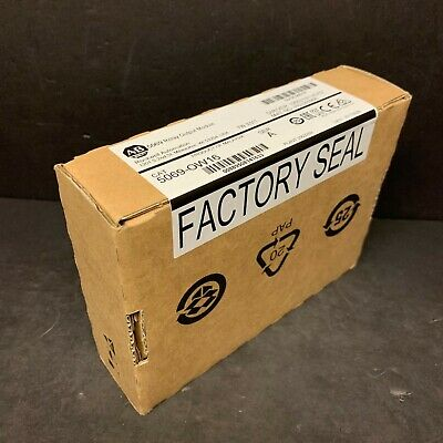 2017 New Sealed Allen Bradley 5069-OW16 0W16 Compact Logix 5000 Output Module