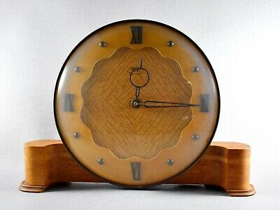SMITHS SECTRIC ELECTRIC MANTEL CLOCK WORKING c1953