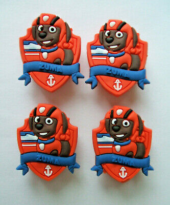 SHOE CHARMS (L1) - CARTOON CHARACTERS inspired by DOG PATROL (4H) Pack of 4