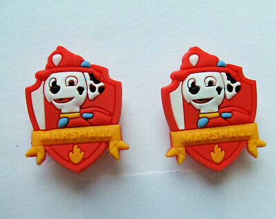 SHOE CHARMS (L1) - CARTOON CHARACTERS inspired by DOG PATROL (2F) Pack of 2