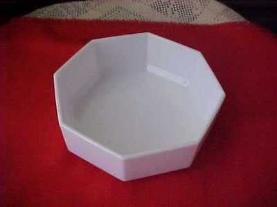 Bowls White Octagon Set of 8 Cereal Soup Bowls Made In France Stackable Arcopal