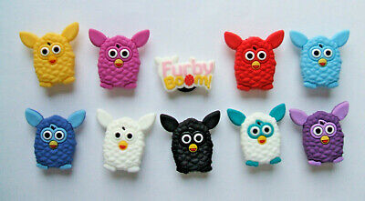 SHOE CHARMS (L6) - inspired by CUTE FURRY OWL CHARACTERS (10FB) Pack of 10