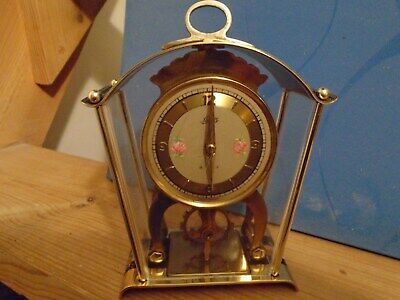 Schatz Vintage Wind Up Carriage Clock Nice clean condition runs but stops