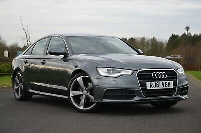 2012 Audi A6 3.0 Tdi S Line 205 Bhp Automatic Flappy Padels, Fully Loaded!!
