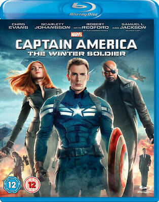 Marvel Captain America : The Winter Soldier [Blu-ray]